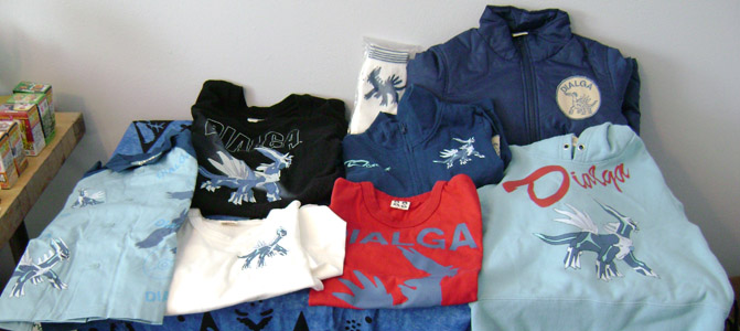 Pokemon Dialga Assorted Clothes