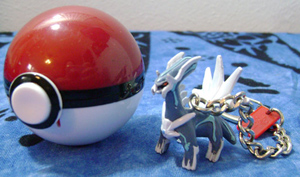 Pokemon Dialga Basic Fun Keychain