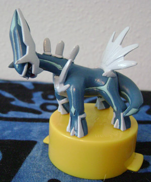 Dialga Super Card Battle Figure