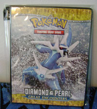 Dialga Great Encounters TCG Binder
