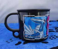 Pokemon Dialga Black Children's Mug