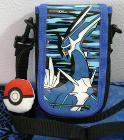 Pokemon Dialga Blue Camo DS Case