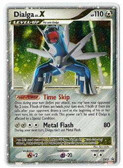 Pokemon Dialga Lv X Promo