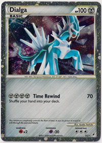 Pokemon Trading Card: Call of Legends Shiny Dialga