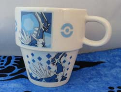 Pokemon Dialga (and Palkia and Darkrai) Ceramic Mug