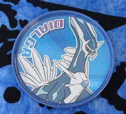 Dialga Metal Coaster
