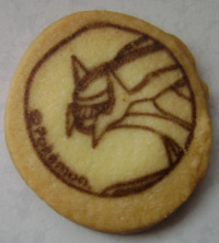 Pokemon Dialga Pokemon Center Cookie