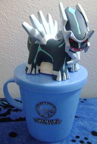Dialga Ichiban Kuji Prize Cup & Figure