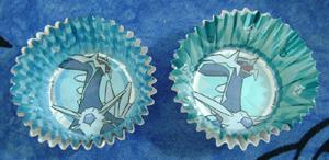 Pokemon Dialga Cupcake Foils (2)