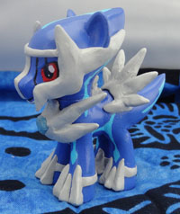 Custom Dialga My Little Pony Figure