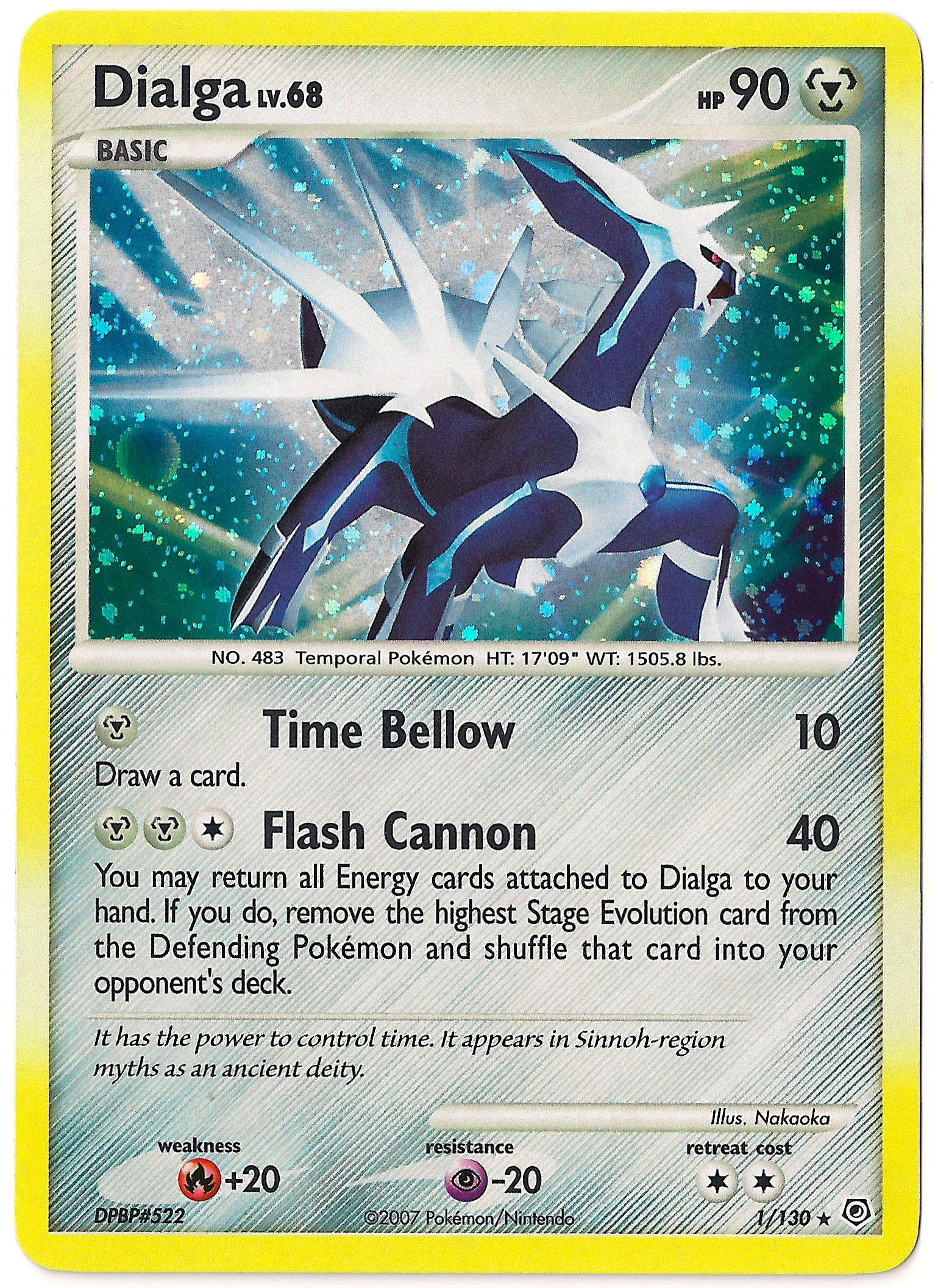 Dialga Pokemon Card Images | Pokemon Images