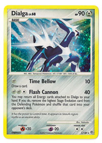 Pokemon Dialga Diamond and Pearl DP1 Holo