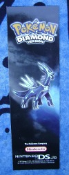 Dialga Diamond Version Promotional Bookmark
