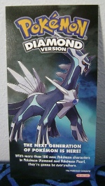 Dialga Diamond Version Promotional Handout