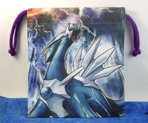 Pokemon Dialga Dice Bag