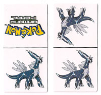 Dialga Paper Dominoes