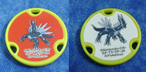 Dialga Double Sided Game Chip