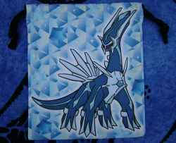 Dialga Diamonds Drawstring Bag