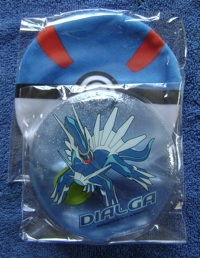 Pokemon Dialga Eco Kairo (Reusable Heat/Cold Pack)