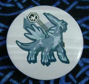 Pokemon European Dialga Badge/Pin