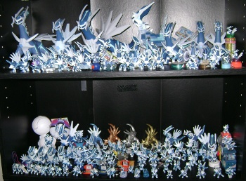 Toz's Dialga Figure Collection
