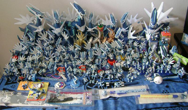 Pokemon Dialga Figure Collection, August 2009