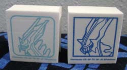 White Foam Dialga Stamps (2)