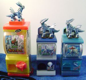 Pokemon Dialga Mini Gashapon Machines (3)