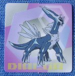 Diamond and Pearl Card Collection - Part 1 Dialga Gachapon Book Sticker