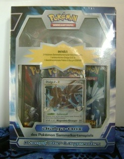 Pokemon German Dialga Box TCG Set
