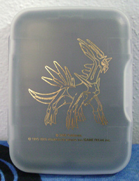 Pokemon Dialga Gold Outline DS Game Case