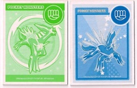 Dialga Hiragana Cards と and し (back)