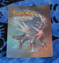 Pokemon Dialga Lenticular Card