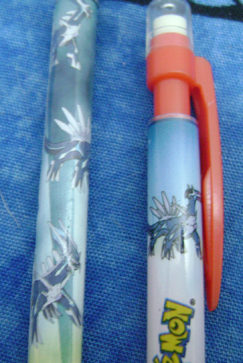 Dialga Jakks Pacific Pencils (2)