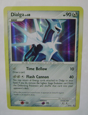 Pokemon Dialga Jumbo TCG Card