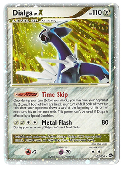 Pokemon Dialga Great Encounters Lv X Non-Promo
