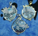Dialga Metal Collection Charms