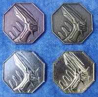 Pokemon Metal Collection Dialga Coins (4)