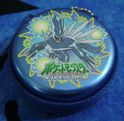 Dialga Metal Coin Purse