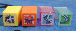 Tiny Pokemon Dialga Stamps (4)