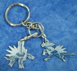 Pokemon Dialga Enameled Keychains (2)