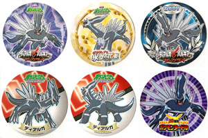 Dialga Ramen Noodle Seals/Stickers (6)