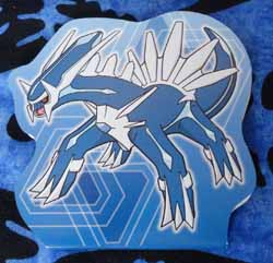 Pokemon Center Dialga Notepad