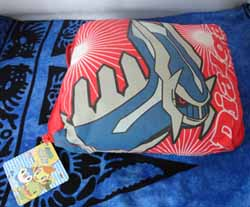 Pokemon Dialga Zippered Reversible Pillow