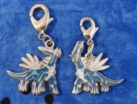 Pokemon Center Dialga Metal Charms (2)
