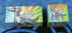 Pokemon Dialga Party Favor Cube Toys