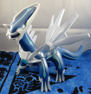 Large Pokemon Dialga Vinyl Pearly Figure