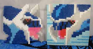 Pokemon Dialga Perler Beads Sets (2)