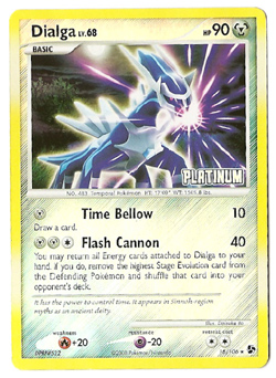 Pokemon Dialga Us Pack Promo