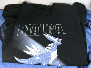 Pokemon Dialga Pokemon Center T-Shirt